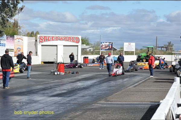 2012 NHRA National Open at Speedworld - Junior Dragsters