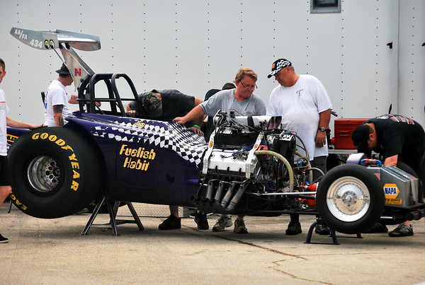 Outlaw Fuel Altereds at Denton by Gena White