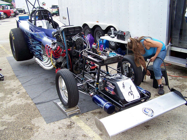 Outlaw Fuel Altereds at Denton by Danny White